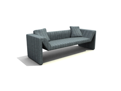 European-style rectangular sofa fashion personality