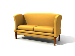 Simple and elegant Chinese-style sofa chair