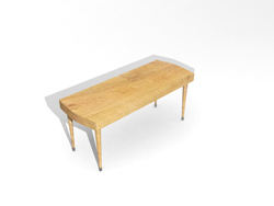 Wooden square small Chinese-style long table