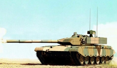 China's most advanced tanks -99 type