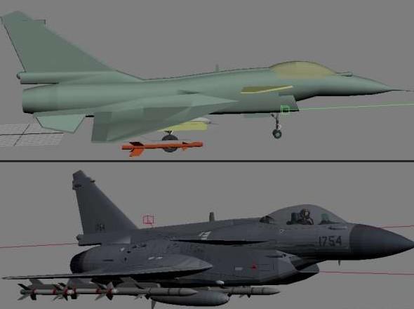 J 10 Fighter Model 3d Model Download Free 3d Models Download