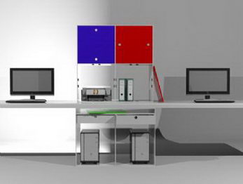 office computer desk 3d model download free 3d models download