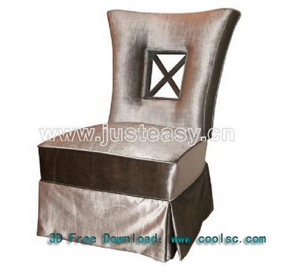 Modern Chinese soft sofa chair