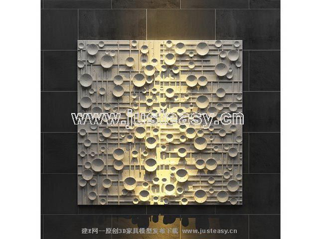European abstract relief