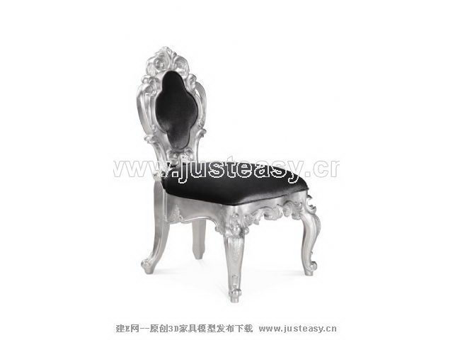 New Baroque luxury chair
