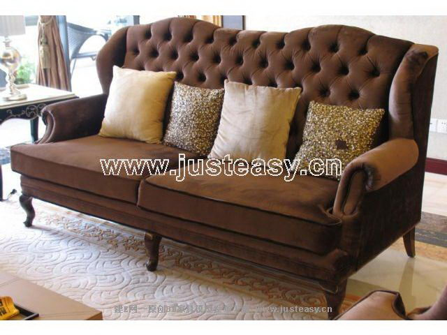 Luxury leather sofas