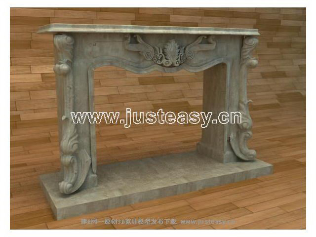 Modern Chinese fireplace