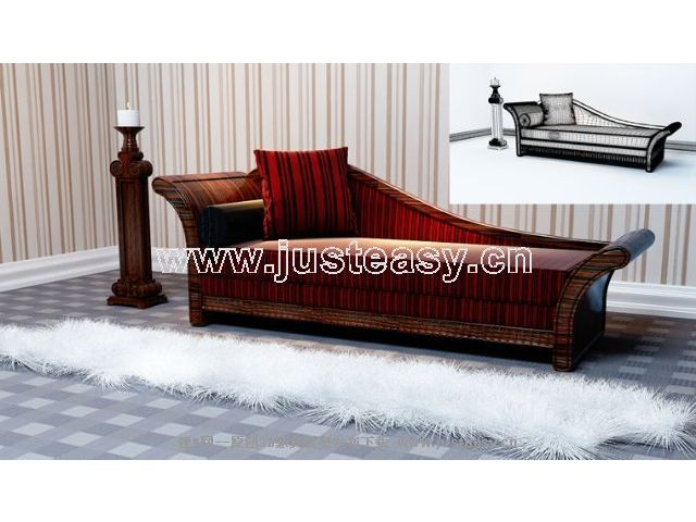 European retro sofa