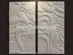 Exotic style abstraction relief