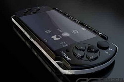 SONY pure black psp3000
