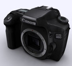 CANON 40D black card machine