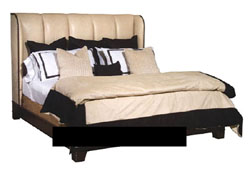 Modern, comfortable double bed
