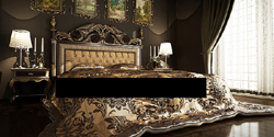 European aristocratic style bedroom