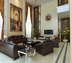 Contemporary and contracted type exotic sitting room