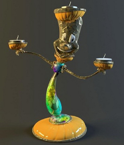 Cartoon images Candlestick