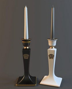 Chinese Simple generous Candlestick