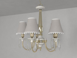 European elegant crystal glass chandeliers