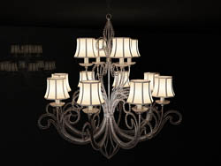 European retro art chandelier