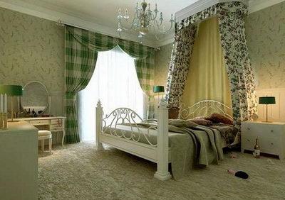 Calico pastoralism bedroom