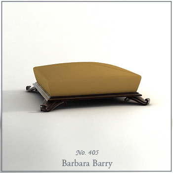 Earth-colored fashion sofa model