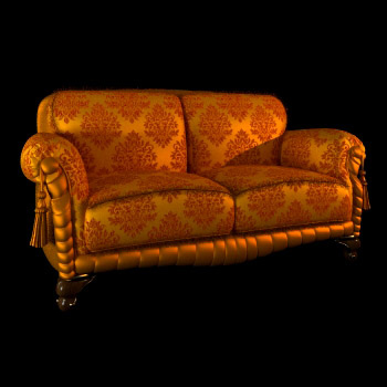 Classical aristocratic sofa
