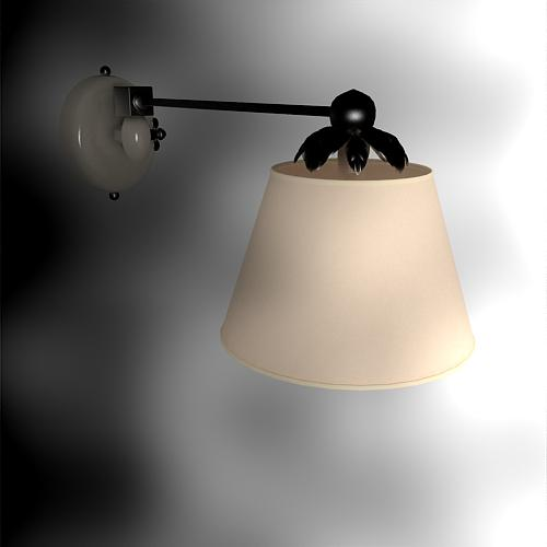 Elegant Chinese interior wall lamp