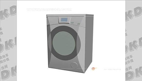 3d model of Little Swan Washing Machine