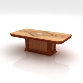 European religion, astrology desk 3D Model