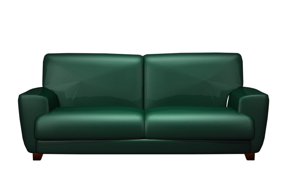 Dark green sofa 66 green sofas in various shapes and for Dark green sectional sofa