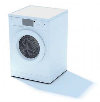 2009 New Washing Machine 3D Model 2-1