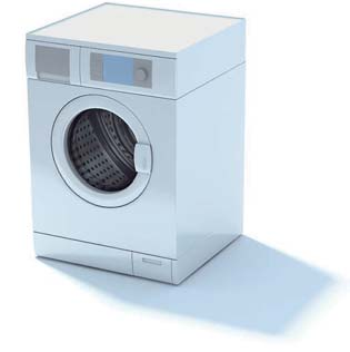 2009 New Washing Machine 3D Model 2-5