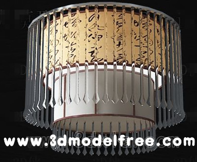 Chinese classical crystal curtain ceiling lamp