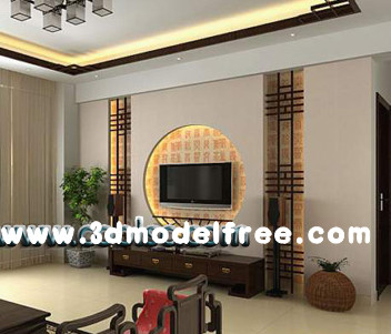 Chinese simple style living room