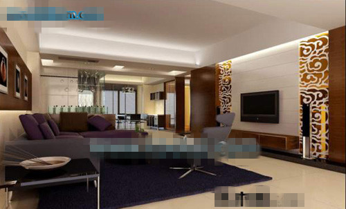 Model Living Room Commercial Living Room 3D Model 3D Model Downloadfree 3D Models