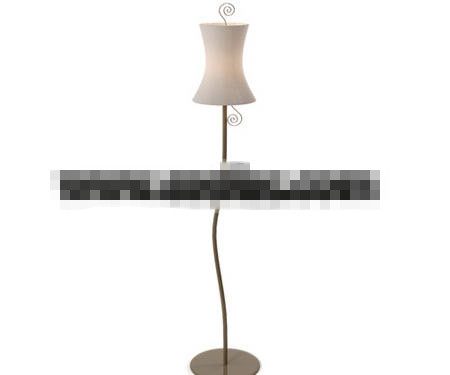 European style iron floor lamp