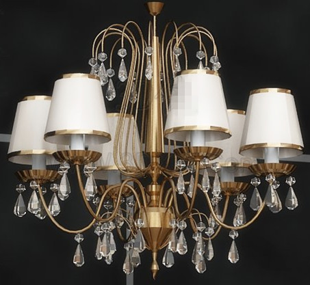 European retro gorgeous pendant lamp