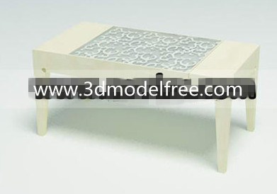 Pure fine carved coffee table