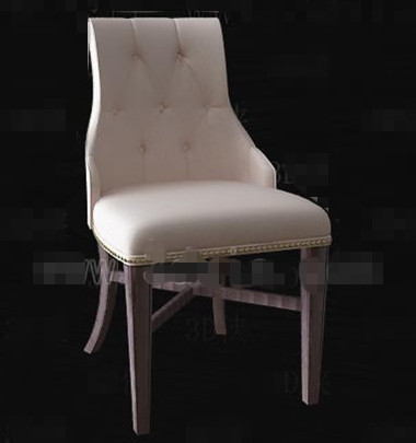 Cream stylish and comfortable chair