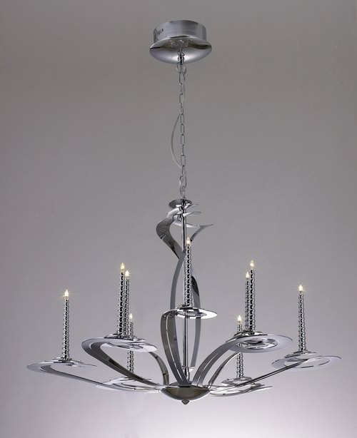 European classical small iron chandelier