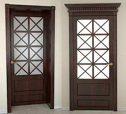 Chinese style Brown Doors