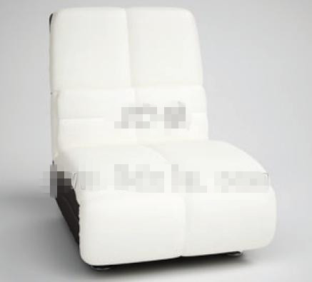 Modern style simple white sofa