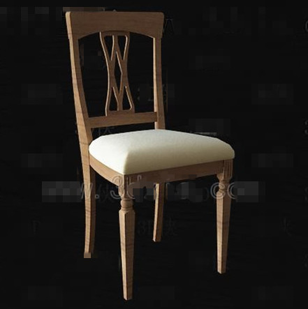 Chinese simple wooden chair