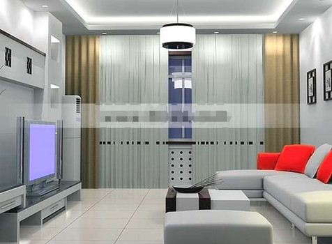 Silver ultra-fashion living room