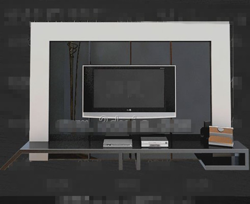 Tv Background Wall 3d Models Free Download 3d Model Download Free 3d