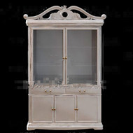 European white simple wine cabinet