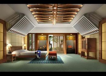 Modern Unique Ceiling Bedroom 3d Model Download Free 3d