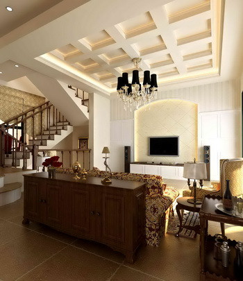 European style casual living room