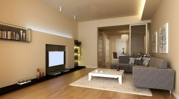 modern small space warm living room d model downloadfree models download - Salon Moderne Etchaleureux