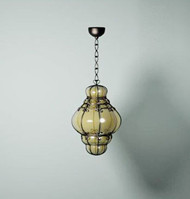 Classic retro metal chandelier