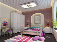 Modern bright colors small bedroom